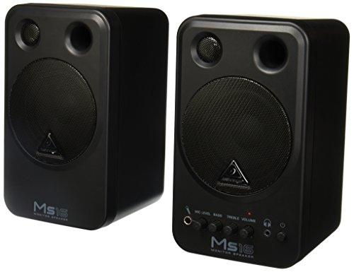 Behringer MS16 Stereo Monitor Lautsprecher (16 Watt)