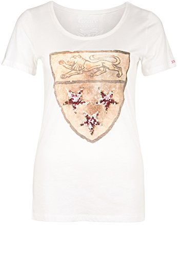 Grace -  T-shirt - Basic - Maniche corte  - Donna bianco XL