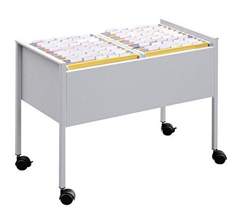 Durable 308223 - Archivador doble para 100 carpetas, color gris