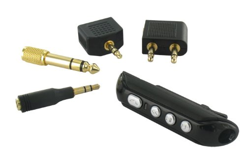 BeeWi Jet Adapter Pack für Kopfhörer (4 Steckeradapter, Bluetooth) (Kopfhörer Pack)