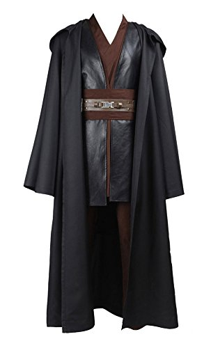 Wars Damen Star Für Kostüme (Star Wars Anakin Skywalker Cosplay Kostüm Braun)