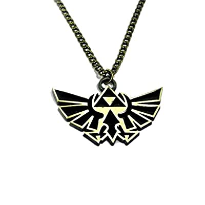 Nintendo Pendentif Zelda Triforce Doré D5D