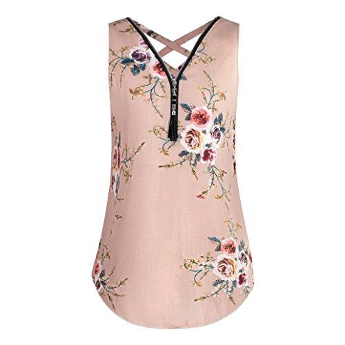 ESAILQ Damen Coole schwarz Lewis pink mit Kragen schöne Spitze günstige Schwarze Festliche ausgefallene Sommer günstig rotes weiß Langarm unterziehshirt rosa kaufen weisses (XXL,Rosa)