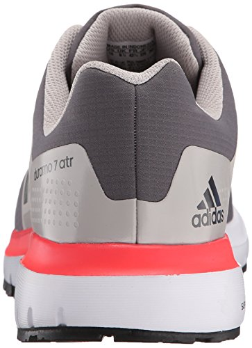 Adidas Outdoor Duramo Atr Trail Running Shoe, Granito / ferro metallico / shock Rosso, 5 M Us Granite/Iron Metallic/Shock Red