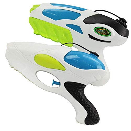 Aida Bz Kinder wasserpistole Spielzeug, ziehen hochdruck wasserpistole Spielzeug, Mini Space Gun Wasser Spielzeug 2 stücke (Gun-spielzeug Space)