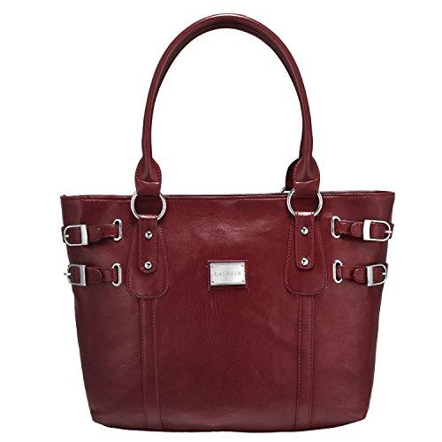 Laurels Superwomen Women\'s Tote Red Color Handbag (LBG-WDW-1010)