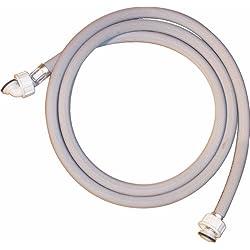 Regiplast TAMAL20 - Tubo de entrada de agua para lavadora (tubo de entrada recto, salida acodada, 20-27 L, 2 m de longitud)
