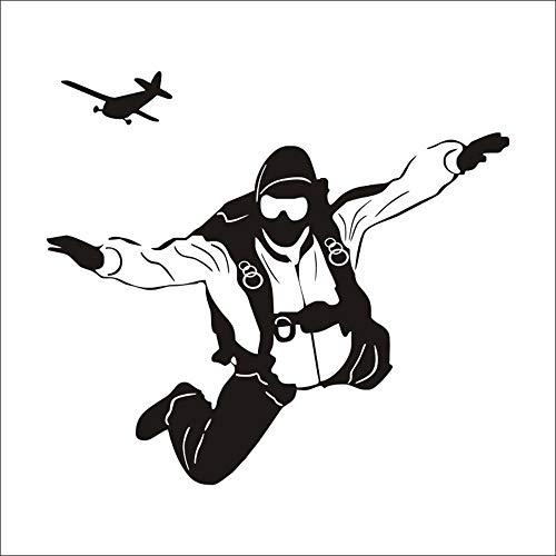 DZBMY Wandtattoos Wandsticker Wandaufkleber,Stilvolle Flugsport Persönlichkeit Wandtattoo Home Dekoration wasserdicht abnehmbare 57 x 65 cm
