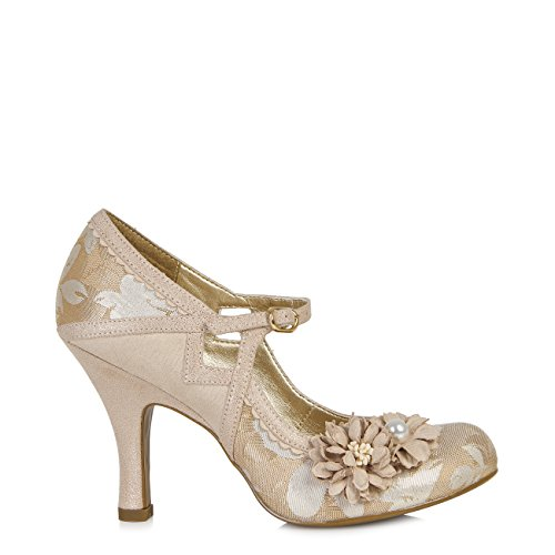 Ruby Shoo , Mary Janes pour femme Rose Gold