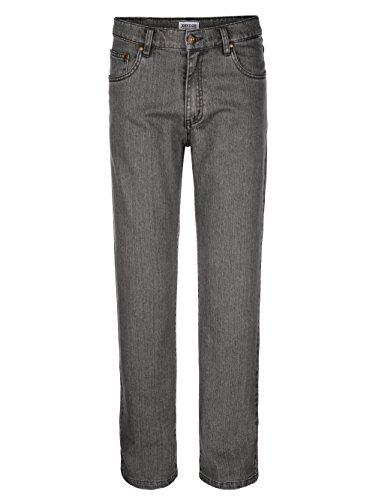 Herren 5-Pocket Jeans Denim in trageangenehmer Qualität Elastisch/Stretchanteil by John F. Gee Hellgrau