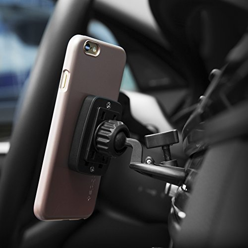 free shipping 5b6f1 5dca0 Spigen Supporto Auto Smartphone, Kuel [Universale CD Slot] [Hexa ...