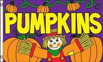Halloween-Kürbisse, zum Verkauf kommerzielle Werbung
