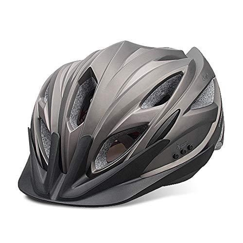 LBAFS Smart Fahrradhelm Mit Bluetooth Headset Professionelle Musik Fahrradhelm Mountainbike Ausrüstung Einstellbare Größe,C -