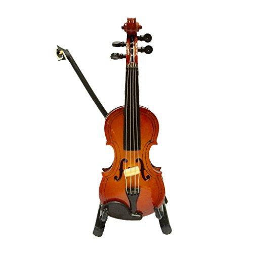 1-12-dolls-house-miniature-musical-instrument-wooden-violin-with-case-stand