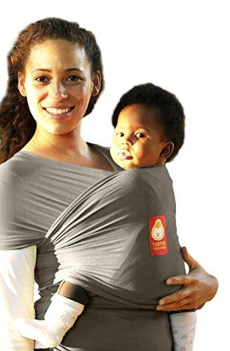 Hana Bamboo Baby Wrap Organic Short Olive Grey Buy Online In