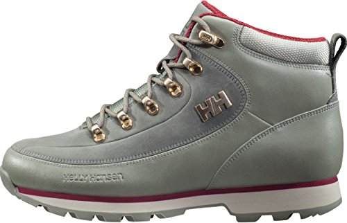 Helly Hansen W the Forester, Stivali Chukka Donna Beige (Laurel Oak / Natura/ Plum)