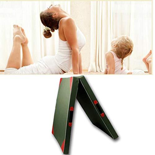 LINKLANK Esterilla De Gimnasia,Estera De Yoga,diseño Plegable Esterilla para Deporte, Esterilla De...