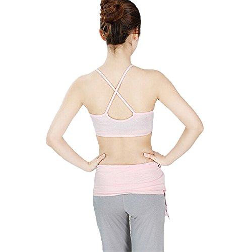 Nanxson(TM) Femmes Ensemble Veste Et Pantalon Modal Pour Danse Gymnastique Yoga Fitness Sport YDTZW0003 Gris