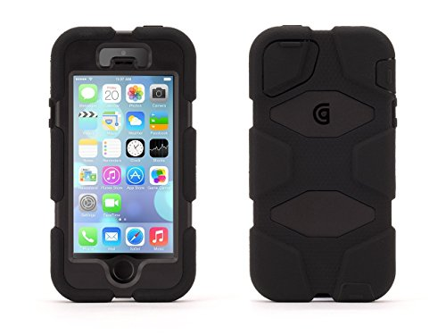 Griffin Black/Black Survivor All-Terrain Rugged Case Plus Belt Clip for iPhone 5/5s, iPhone SE  available at amazon for Rs.5349