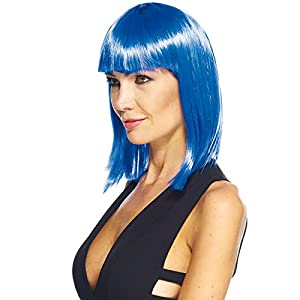 Aec aq04025Peluca Katia Azul, Azul, OS