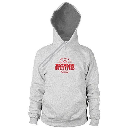Wayward Outfitters - Herren Hooded Sweater, Größe: S, Farbe: grau meliert