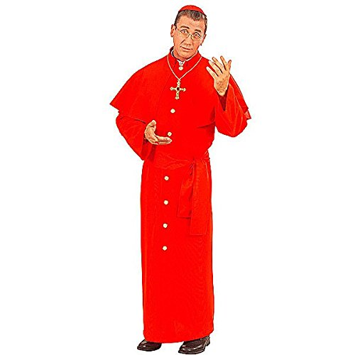 Rotes Kardinal Kostüm Priester Cardinal Größe ()