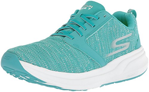 Skechers Performance Women's Go Ride 7 Running-Shoes,Turquoise,7.5 M US