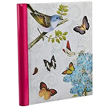 Spiral Bound Photo Album Pink Approx ARPAN Self-Adhesive 20 Sheets//40 Sides Measures 25cm x 29cm