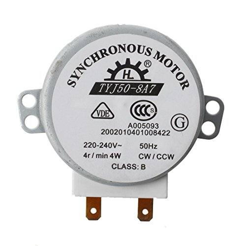 Motor Mikrowelle - SODIAL(R)Mikro Synchronmotor fuer Mikrowellenherde AC 220-240V 4W 4RPM (Ac-motor)