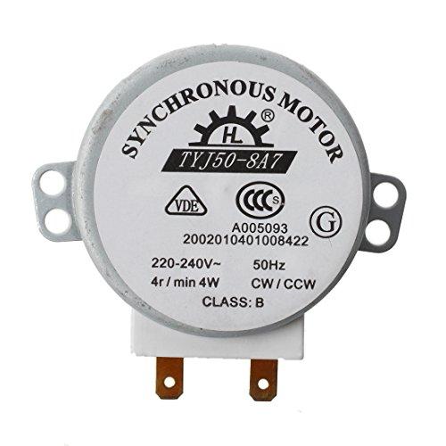 Motor Mikrowelle - SODIAL(R)Mikro Synchronmotor fuer Mikrowellenherde AC 220-240V 4W 4RPM