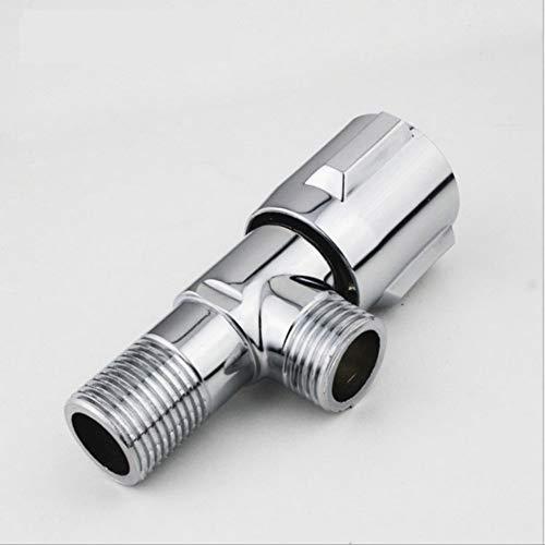 Makeyong parti di ricambio del rubinetto valvola a triangolo in ottone accessorio per il bagno 1/2 / 1 * 1/2 valvole di angolo freddo e caldo per rubinetto e toilette