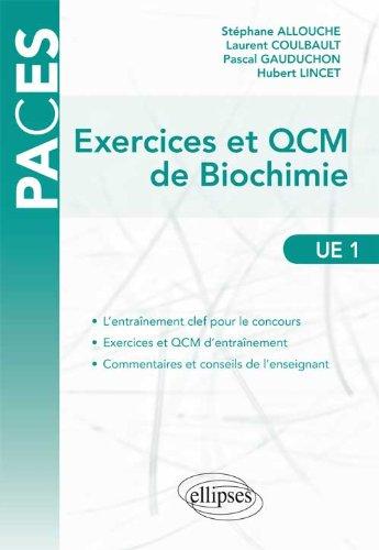Exercices & QCM de Biochimie