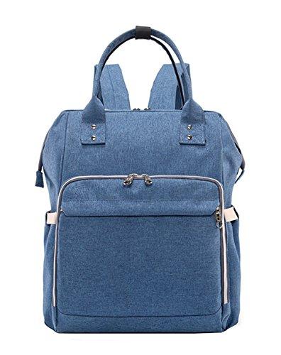 506bd0d8339baa iSuperb Zaino Passeggino Impermeabile Zaino Scuola Grande Borsa Fasciatoio  Multifunzione Backpack 36x24x38cm ...