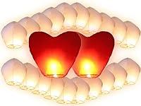 """Le lanterne cinesi volanti, conosciute anche come lanterne del cielo, sono un oggetto tipico della tradizione popolare cinese. Chiamate in estremo oriente """"Khom Fay"""" o """"Khom Loy"""", sono usate ormai da quasi 2000 anni per la celebrazione di fes..."""