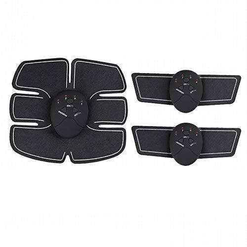 krx smart bellezza macchina vita addominali muscoli pigri strumento di fitness addominali massaggio addome adesivi attrezzature per il fitness attrezzature addominali