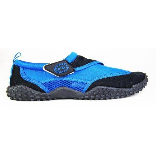 nalu-velcro-aqua-surf-beach-wetsuit-shoes-kids-uk-1-eu-33-blue-with-black-trim