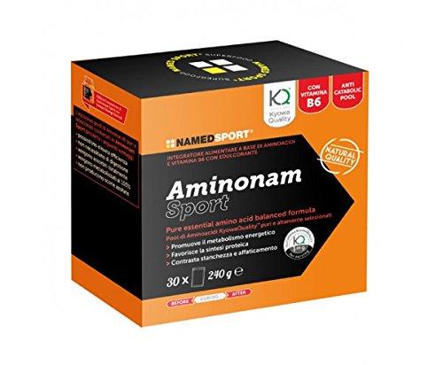 Aminonam Sport - Named - Integratore alimentare a base di Aminoacidi e Vitamine del gruppo B