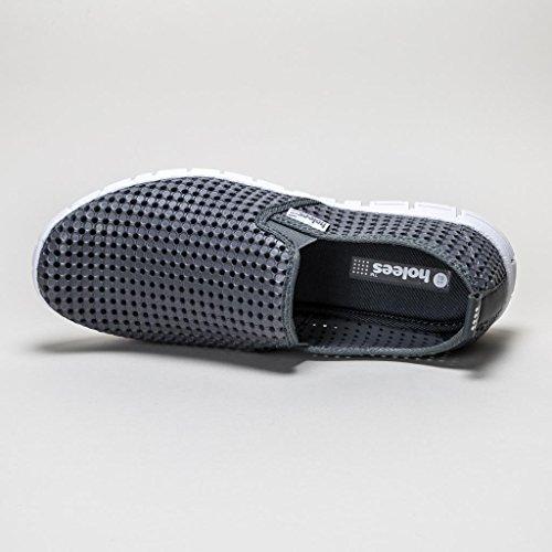 Holees Original Slipper Schuhe Grau (Herren)