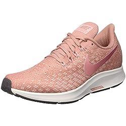 Nike Air Zoom Pegasus 35, Zapatillas de Running Unisex Adulto, Rosa, 38 EU