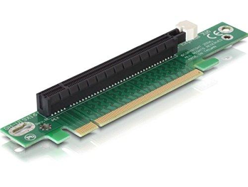 Delock 89105 gewinkelt Riser PCI-Express Karte (16x Slot) für 48,3 cm (19 Zoll) Gehäuse Riser
