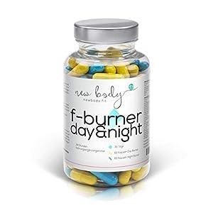 AKTION F-Burner Day&Night – 24 h Fatburner zum Ankurbeln Ihres Fett-Stoffwechsels. Tag und Nacht einzunehmen! 100% natürlich Fett verbrennen, hochdosiert und effizient. Auch zusätzlich zu jeder Diät.