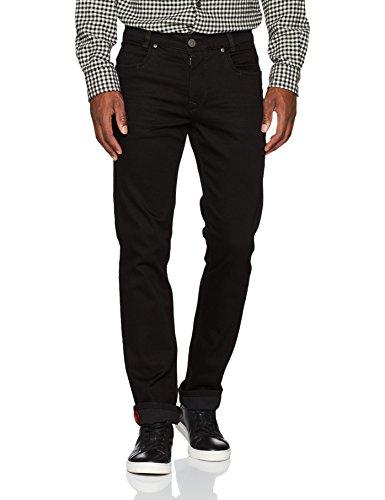 Atelier GARDEUR Herren Straight Leg Jeans Batu Schwarz (Black Denim 799)