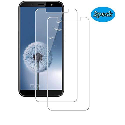 MSOSA [2 Stück Panzerglas für HTC U12 Life Schutzfolie, 9H Härte Panzerglasfolie HD Bildschirmschutzfolie Vollständige Abdeckung Glas Folie für HTC U12 Life-Transparent