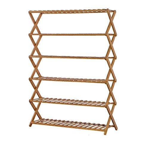 Udfybre Racchetta da Fiori in bambù Multistrato, Piattaforma, Vasca da Fiori per Vasca da Giardino Interna ed Esterna, basi multifunzionali per Piante (Dimensioni : 88cm)