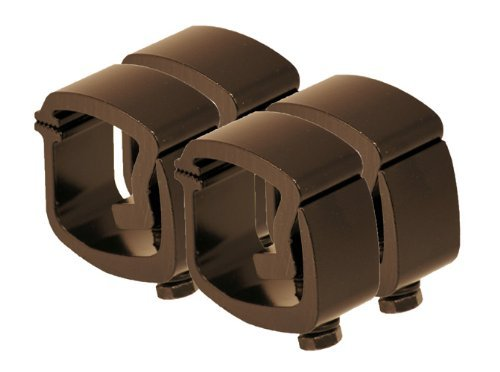 API AC101BP4 Black Mounting Clamps for Truck Caps / Camper Shells (Set of 4) by API -