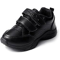 Liberty Unisex School Shoes Black (Size 13 UK/Age 6-7 Years/Length 20.8Cms)