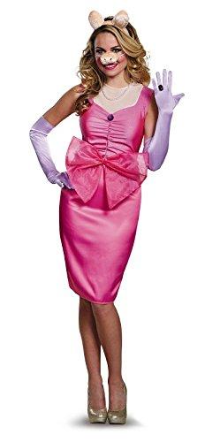 The Muppets Miss Piggy Deluxe Costume Adult Medium 8-10 (Piggy Kostüm Miss)