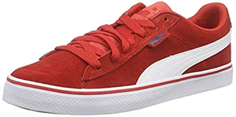 Puma Puma 1948 Vulc, Unisex-Erwachsene Sneakers, Rot (high risk red-white 03), 43 EU (9 Erwachsene