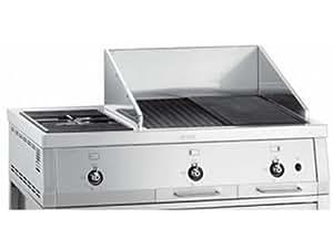 Barbecue Gamme en acier inoxydable brossé SMEG BQ6030S
