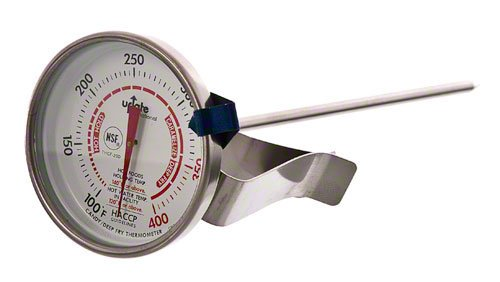 Update International THCF-20D Dial Candy/Deep Fry Thermometers 6-3/4-Inch